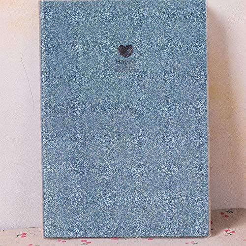 2020 Arco Iris Portátiles Bloc De Notas Organizador Planificador Semanal De La Agenda Pensonal Diario De Viaje Nota Útiles Escolares Libros (Color : Sky Blue)