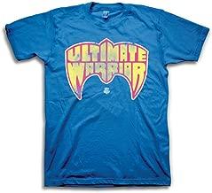 Ultimate Warrior Logo T-Shirt WWE Wrestling Blue