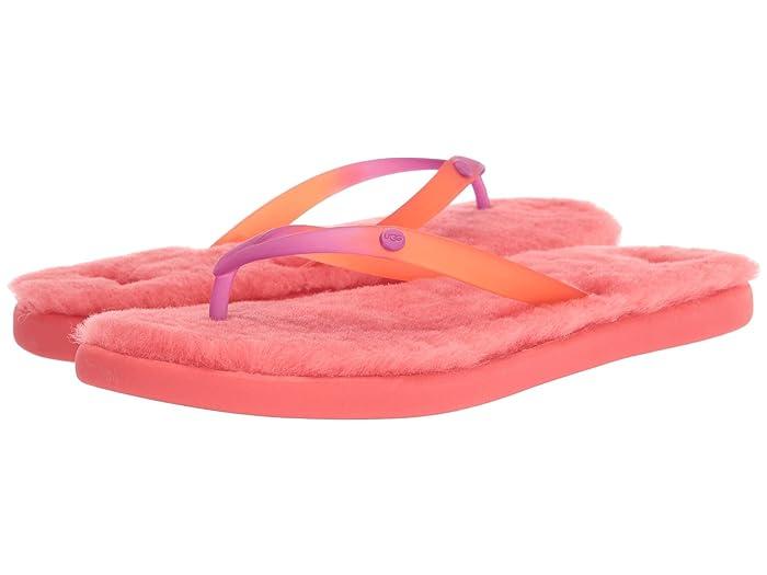 UGG  Fluffie II (Pop Coral) Womens Sandals