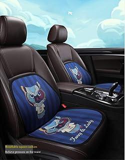 Leuke autostoelkussen voor autobestuurdersstoel met lendensteun voor vrouwen (uil)