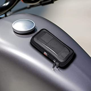 Motorcycle Magnetic Tank Bag, Sportbike Phone Pouch Case with 8 Strong Magnets Mount
