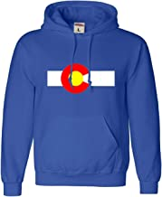 Go All Out Adult and Youth Colorado State Flag Sweatshirt Hoodie