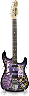 NFL Unisex NFL Mini Collectible Guitar, 10-inch by 3-inch by 1/4-inch