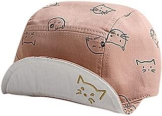 Cute Baseball Caps, Bongrace Cat Kitten Cartoon Peak Hats
