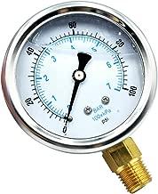 Best 1/4 npt oil pressure gauge Reviews