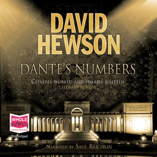 Dante's Numbers audiobook cover art