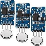 AZDelivery 3 x Reloj en tiempo real RTC DS3231 y bateria incluida gratis I2C para Arduino, Raspberry Pi y microcontrolador (con AT24C32)