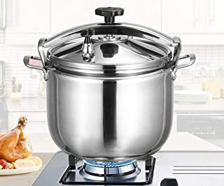 Pressure cooker food grade stainless steel explosion-proof safety soup pot with various specifications to increase productivity, easy to clean, hotel gas induction cooker, general pressure cooker 15L-