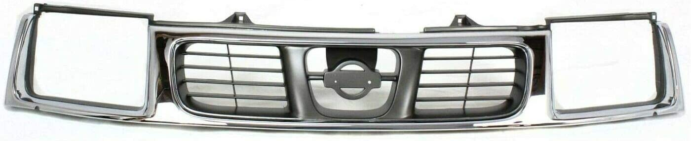 Gevog Grille Compatible with 1998-00 Sil Frontier wholesale Shell Super Special SALE held w Chrome
