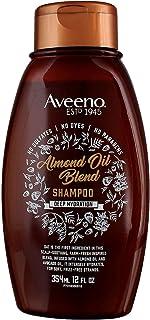 Aveeno Shampoo Almond Oil Blend 12 Ounce (354ml) (2 Pack)