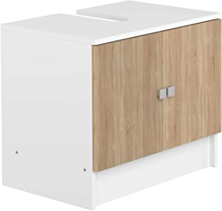 Marca Amazon - AmazonBasics - Mueble para lavabo, 60 x