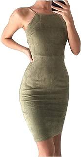 Twippo Vestidos Ajustados Mujer Vestidos Cortos Sin Mangas