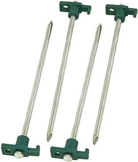 Coleman - Clavijas de Acero para Tienda de uñas, 4 Unidades