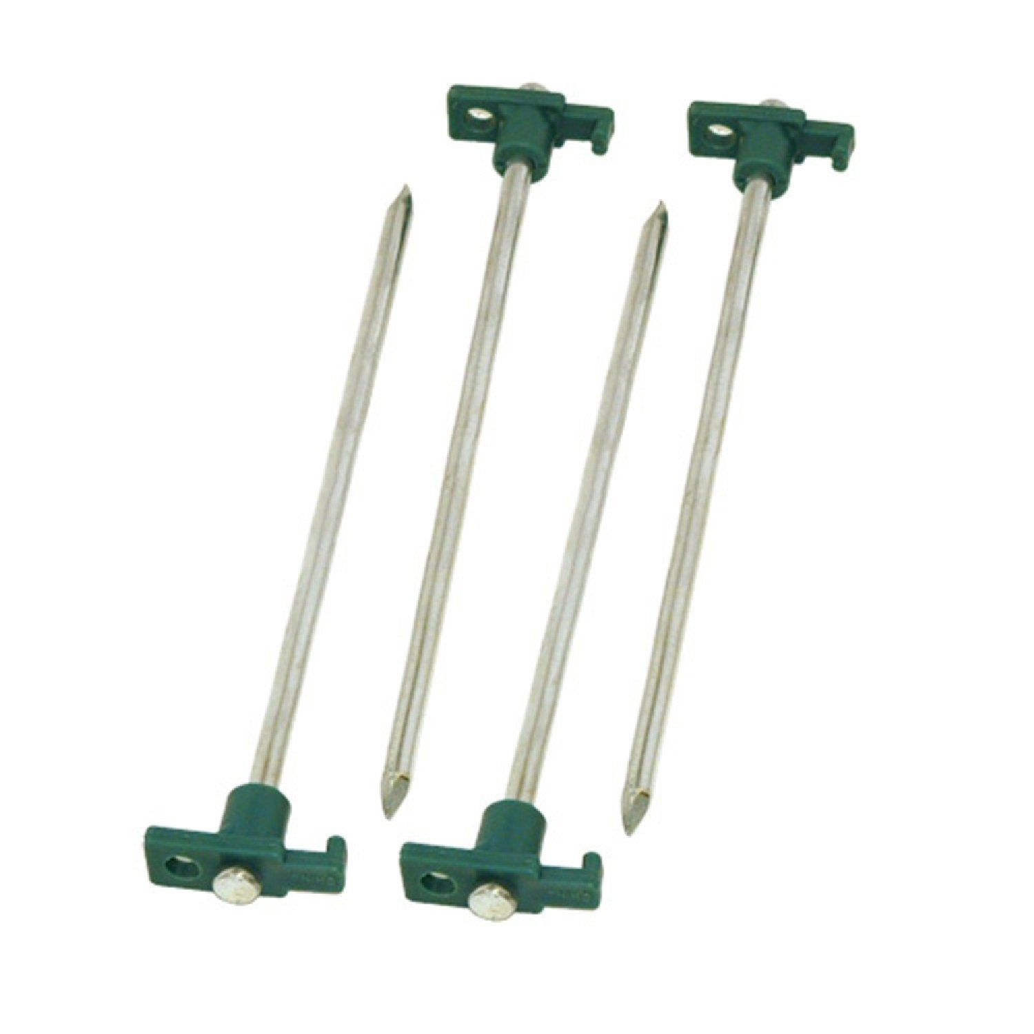 Tent Pegs   x 10 Coleman 12 Metal Tent Stakes