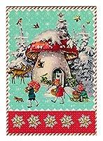 ロジャーラボード 【クリスマス】 アドベントカレンダー (キノコの家) ACC038