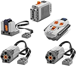LEGO 5pc Power Functions Motor Battery IR Remote Receiver SET