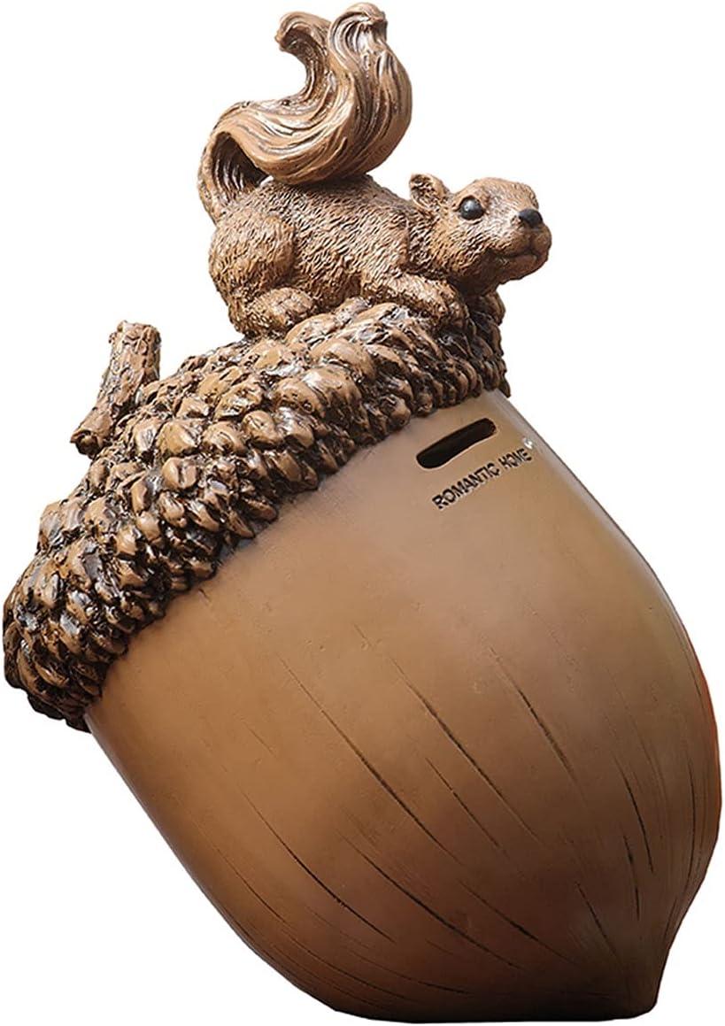 RAN Las Vegas Mall Squirrel Piggy Bank Money Coin Jar Kids for Girls Boys Long Beach Mall