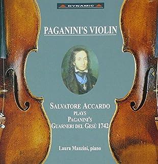 Salvatore Accardo Plays Paganini's Guarneri Violin by unknown (1996-09-17)
