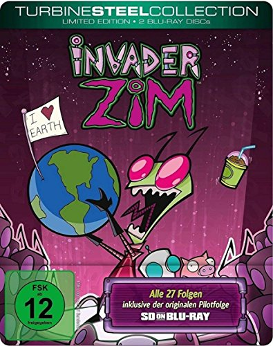 Invader ZIM - Turbine Steel Collection (SD on Blu-ray)