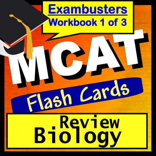 MCAT Test Prep Biology Review Flashcards--MCAT Study Guide Book 1...
