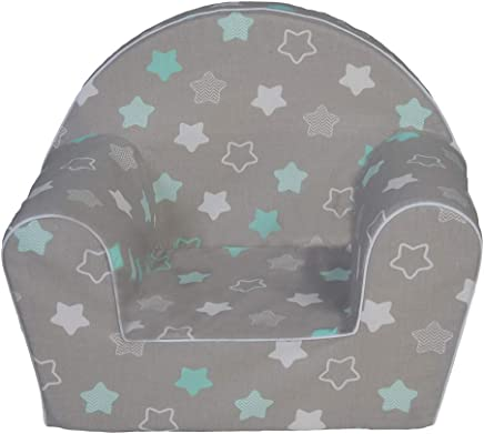 MuseHouse Childrens Chair Armchair Children Room Sofa Seat Stool Kids Toddlers Childs Sofa seat  STARS-MHF126