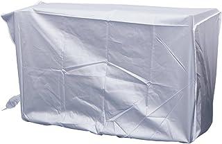 WINOMO Cubierta Exterior Protectora antirresbaladiza Impermeable del Aire Acondicionado (Plata)