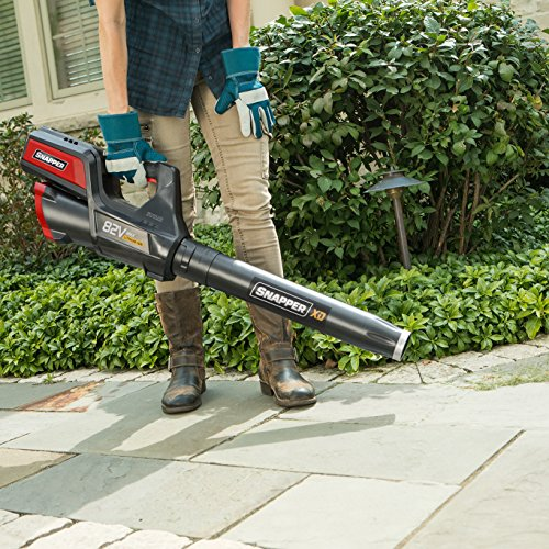 Snapper XD 82V MAX 550 CFM Cordless Leaf Blower Kit, w/Battery and Rapid Charger