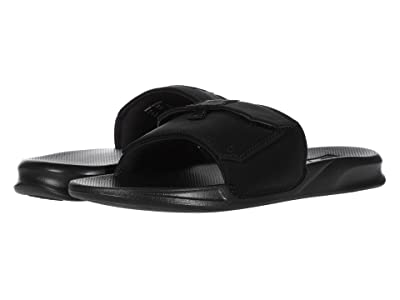 Reef Stash Slide (Black/Black) Men
