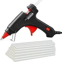 Hot Glue Gun, 20W Temp Mini Melt Glue Gun with 30PCS Glue Sticks, Heating Fast, Perfect for DIY School Projects, Home Quic...