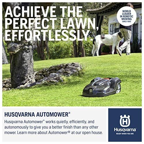 Husqvarna 967622505 Automower 430X Robotic Lawn Mower, 3/4 acre...