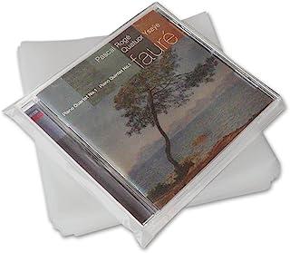 CUIDATUMUSICA Fundas Exteriores de plastico para CD - Marca Cuida Tu Musica - / Ref. 2272