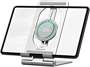 Nillkin Wireless ipad Charger Tablet Stand - 2 in 1 ipad Holder Charging Dock, Wireless Charging Stand for iPad Pro 12.9/i...