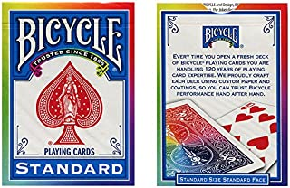 MMS Bicycle Poker Deck (Rainbow Back) by Di Fatta and USPCC Trick