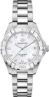 TAG Heuer Aquaracer Stainless Steel 32mm Womens Watch WBD1314.BA0740