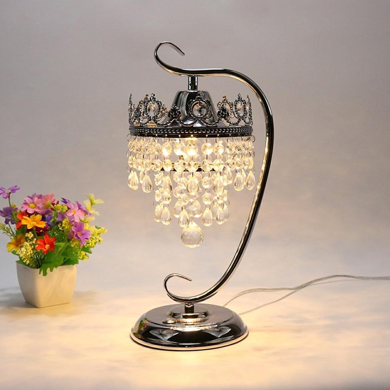 Moderne LED-Energiesparlampen, kreative Kristall-Lampen, im europäischen Stil Schlafzimmer Wohnzimmer Restaurants dekorative Energiesparlampen, 39  19cm (Farbe   Crystal A) B073GSMLZZ   Economy