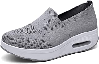 Donna Sneaker Scarpe Dimagranti Scarpe da Ginnastica Casual Tennis Piattaforma Running Sneakers Fitness Sportive Zeppa Out...