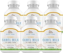 Desert Farms - Organic Fresh Frozen Camel Milk - Fresh Flavor with Health Benefits - Raw & Natural Grade A ...