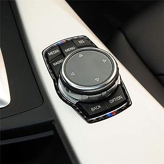 GT X3 X4 2009-2016 Etiqueta decorativa de fibra de carbono//Tres de fibra de carbono Color freno de mano del coche debajo del panel de la etiqueta engomada for BMW Serie 5 F07 F10 F25 F26