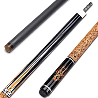 BEKZILY Carbon Pool Cue Technology Shaft with Hard Pool Case