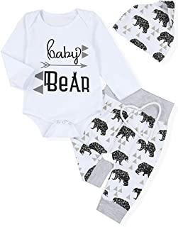 little bear baby outfit