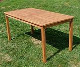 ECHT Teak Gartentische Holztisch Tisch in verschiedenen Größen - 5