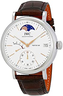 IWC Portofino Silver Dial Men's Hand Wound Watch IW516401