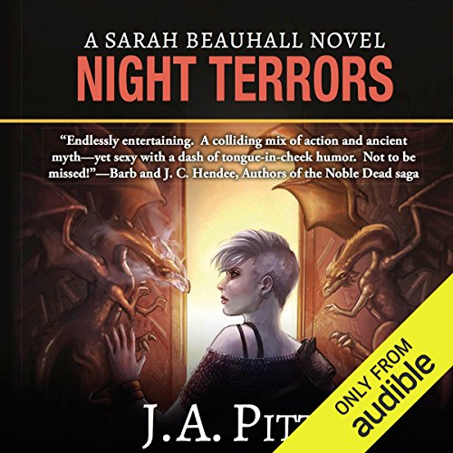 Night Terrors audiobook cover art