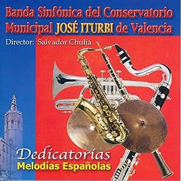 Dedicatorias Melodías Españolas
