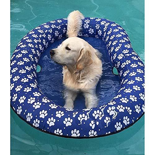 Ginkago Aufblasbar Schlauchboot Hunde Boot Haustier Luftmatratze Schwimmbad Strand Spielzeug