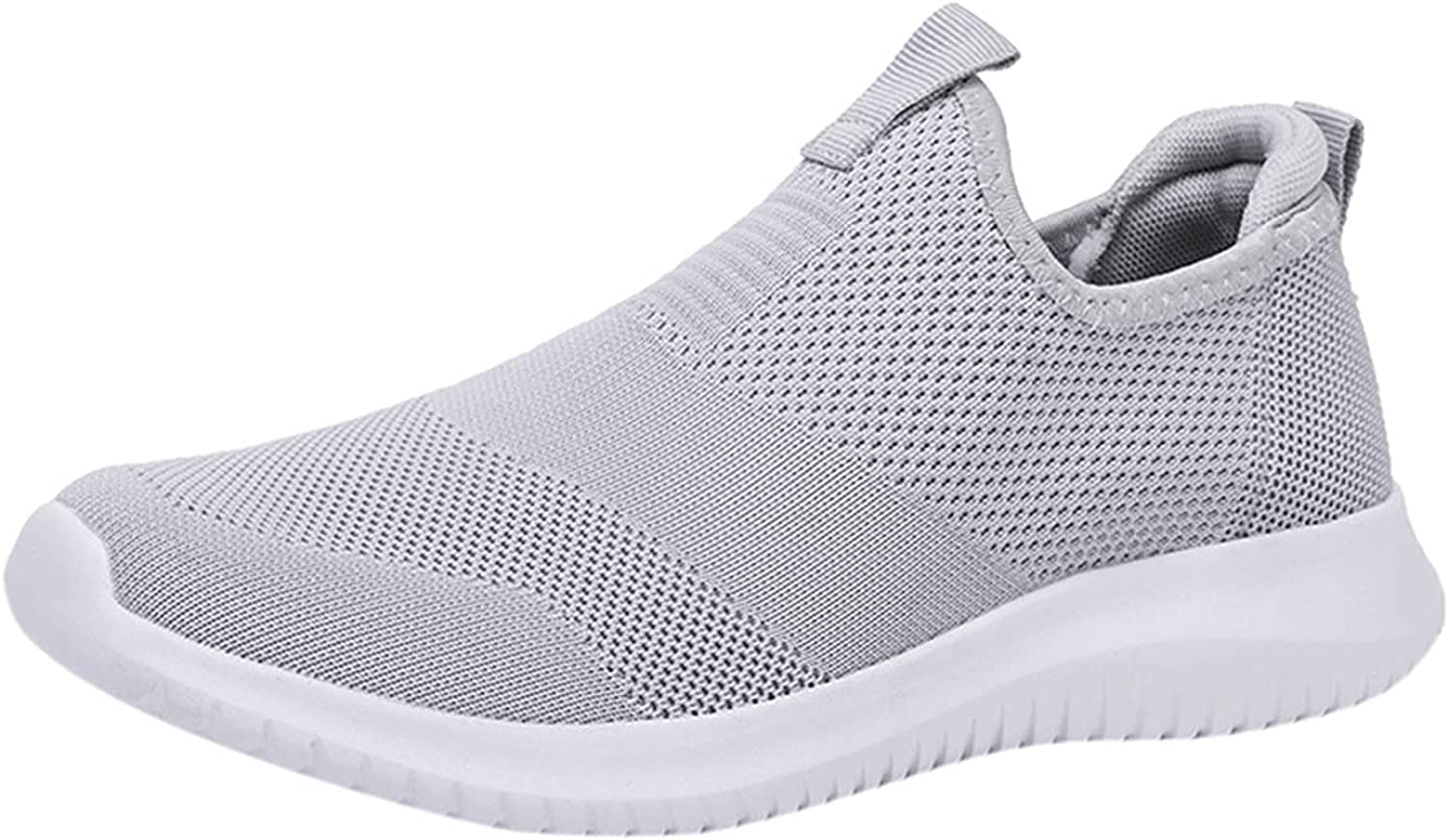 Couple Woven Breathable Casual Shoes Autumn New Comfortable Ultra Light Hollow Sneakers Soft Bottom Mesh No-Slip Platform Running Sports Shoes Slip-Onmens Work Shoes