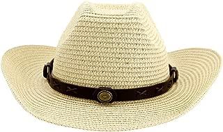 Sun Hat for men and women Women Men Roll Up Brim Sun Hats Summer Beach Sombrero Hombre Lifeguard Jazz Hats Straw Western Cowboy Hat