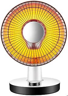 AZBYC Calentador De Ventilador De 300 Vatios / 600 Vatios para Oficina Y Hogar, Calefactor De Ventilador Eléctrico Y Protección contra Sobrecalentamiento