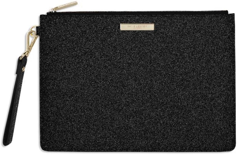 Katie Loxton  Stardust Clutch Bag  Black