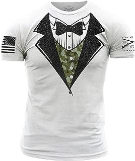 Camo Tux Men's T-Shirt